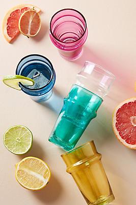 Slide View: 2: Rainbow Juice Glass