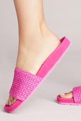 J/Slides   J/Slides Naomi Slide Sandals  -    ROSE