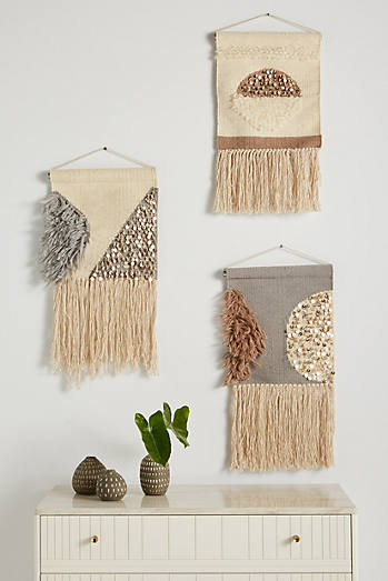Lucy Fringed Wall Hanging