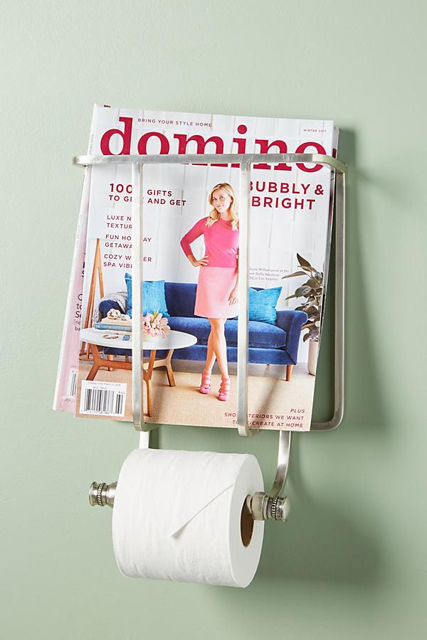 Magazin- und Toilettenpapier-Halter - Silver
