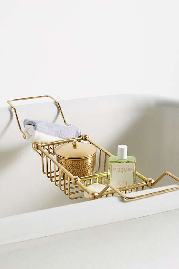 Slide View: 1: Maison Storage Bath Caddy