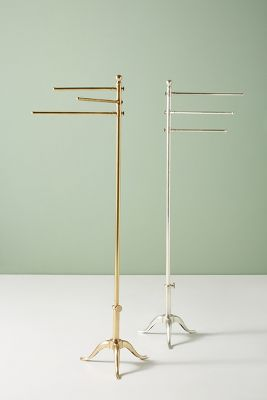 Pedestal Towel Stand Anthropologie