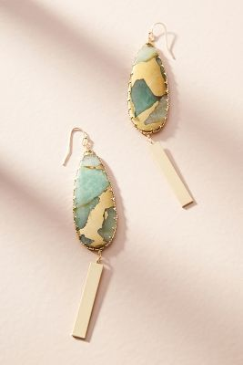 Green - Earrings For Women: Drop, Chandelier & Posts | Anthropologie