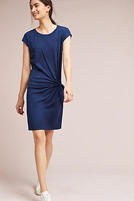 Slide View: 1: Gussie Tie-Waist Dress