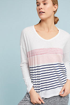 Slide View: 1: Sundry Striped Shirt