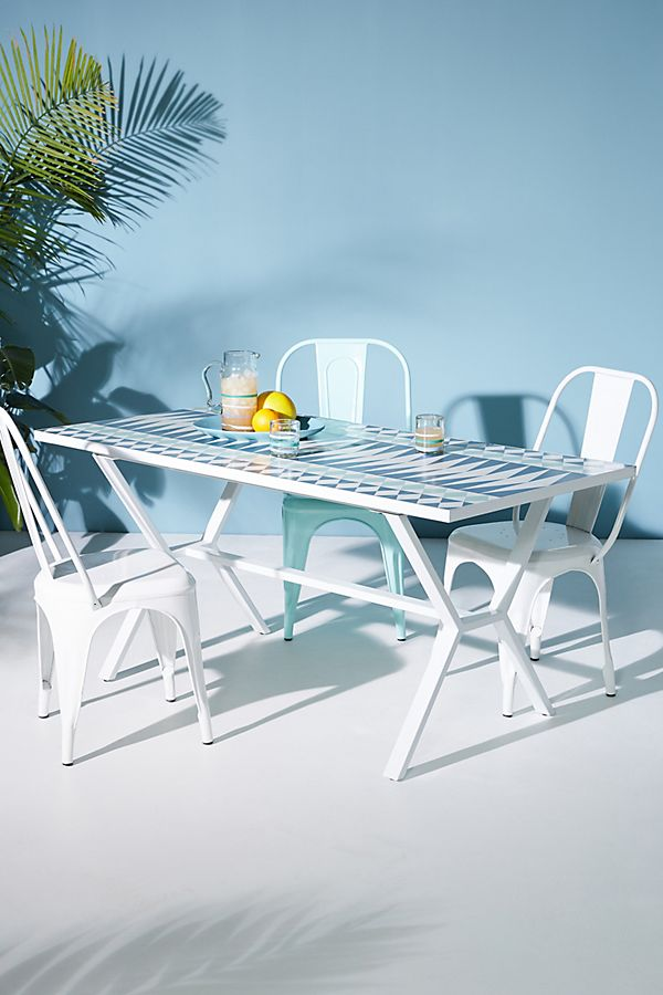 Slide View 1 Cabo Indoor Outdoor Dining Table