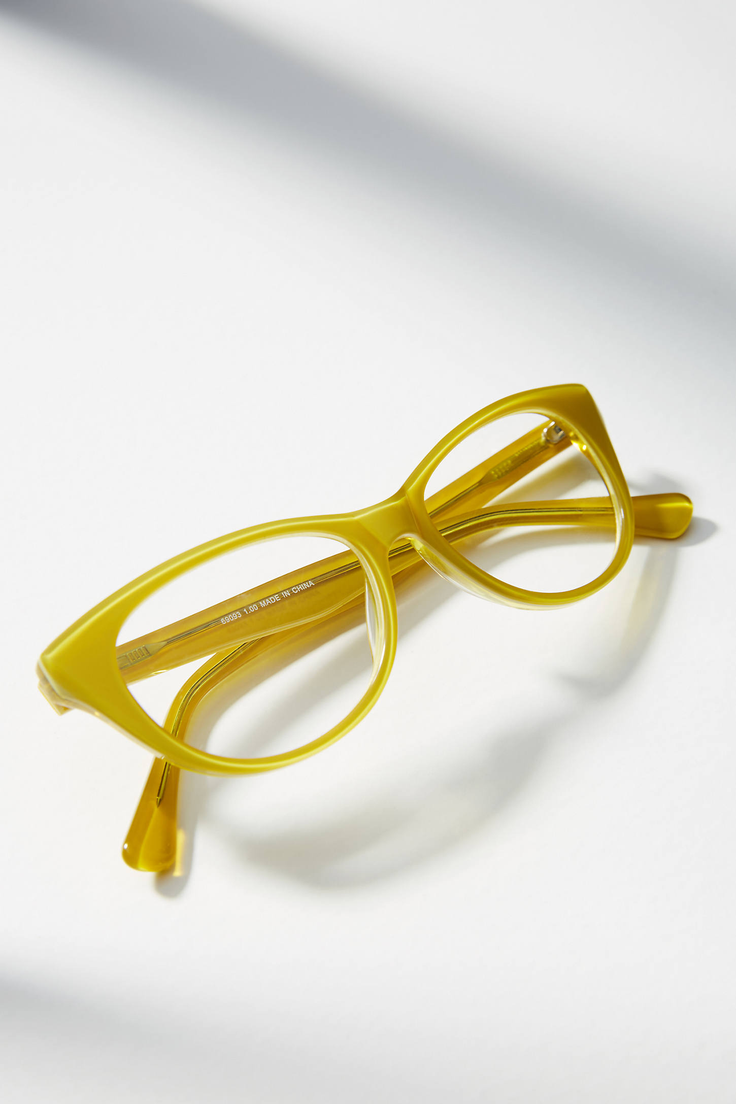 Chartreuse Reading Glasses