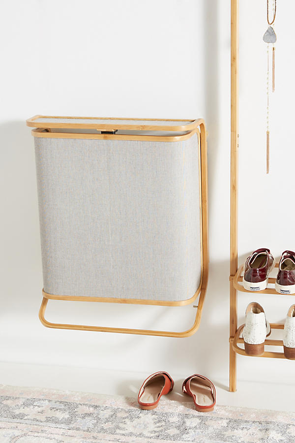 Slide View: 1: Bamboo Hamper