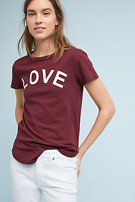 Slide View: 1: Sol Angeles Love Graphic Tee