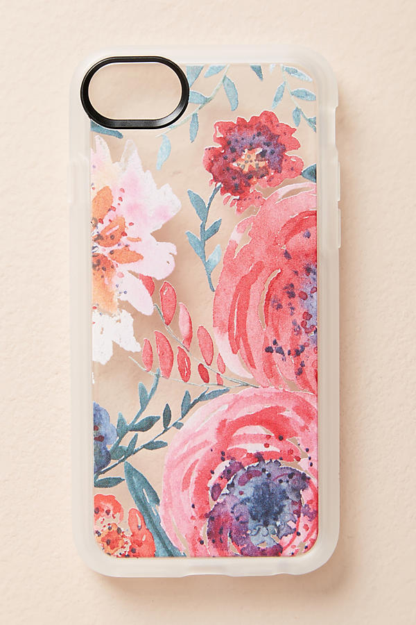 Slide View: 2: Casetify Sweet Petals iPhone 6/6s/7/8 Case
