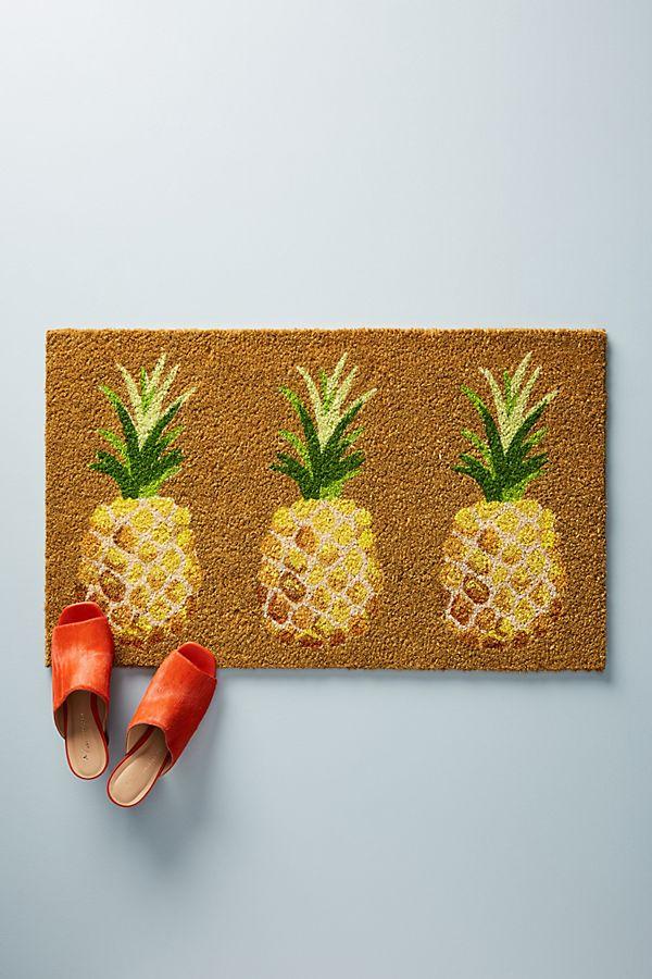 Slide View: 1: Pineapple Doormat