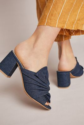 Liendo by Seychelles   Liendo by Seychelles Katerini Knotted Mules  -    NEUTRAL MOTIF