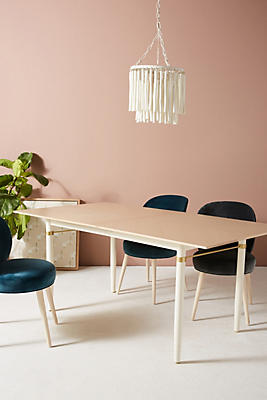 Slide View: 1: Geo-Marquetry Dining Table