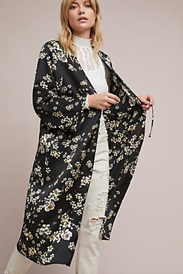Slide View: 2: Wildflower Long Kimono