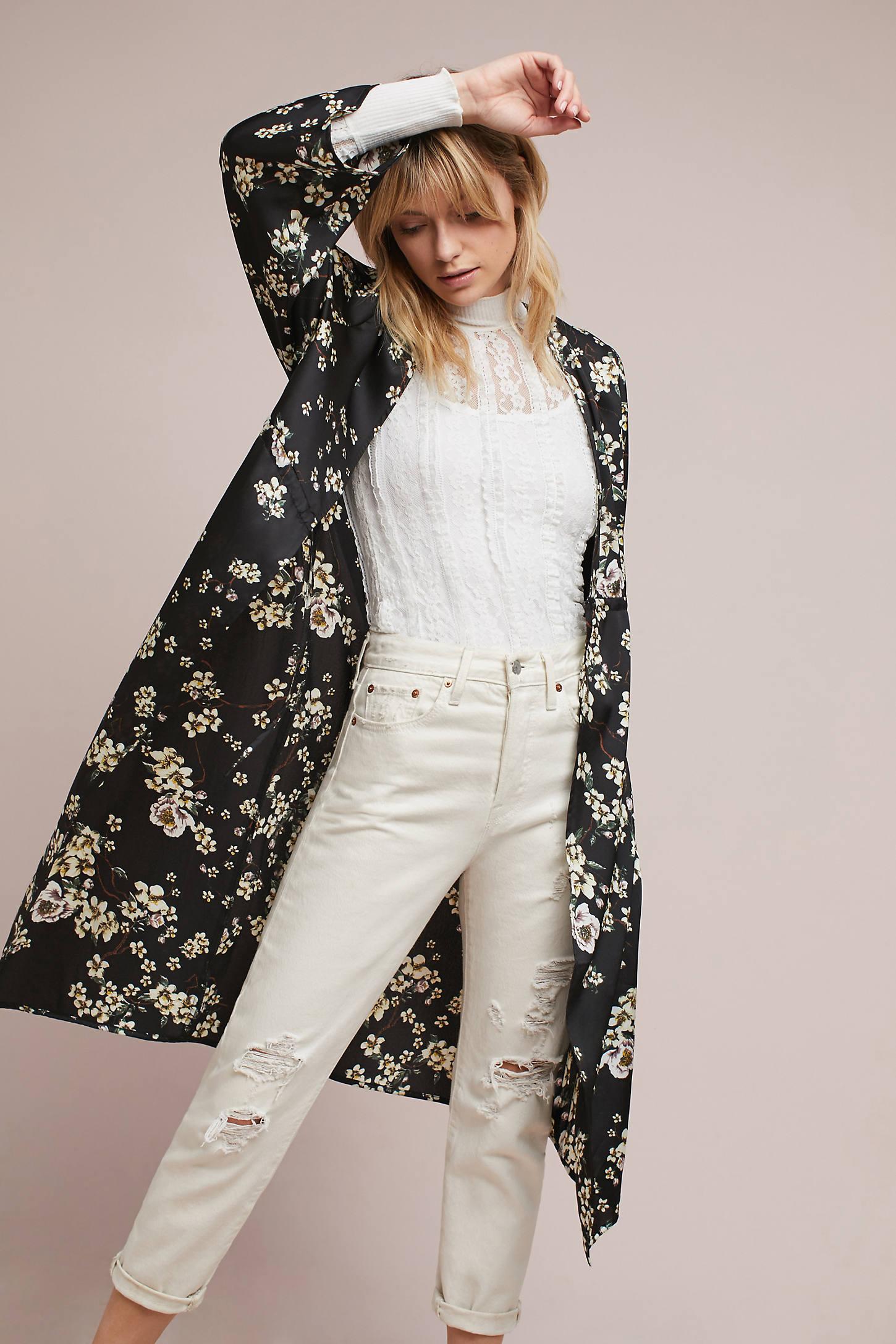 Wildflower Long Kimono