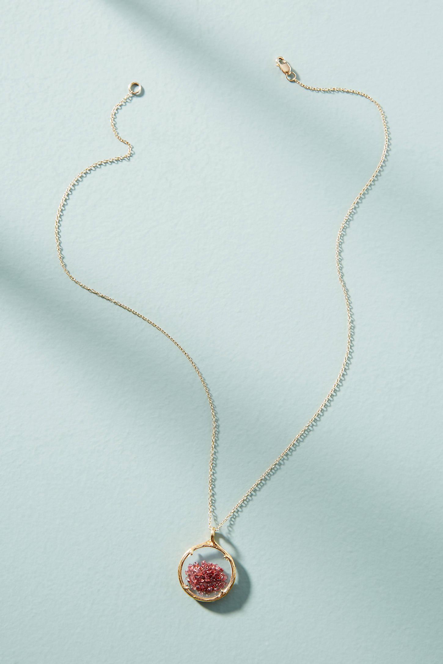 Birthstone Shaker Necklace