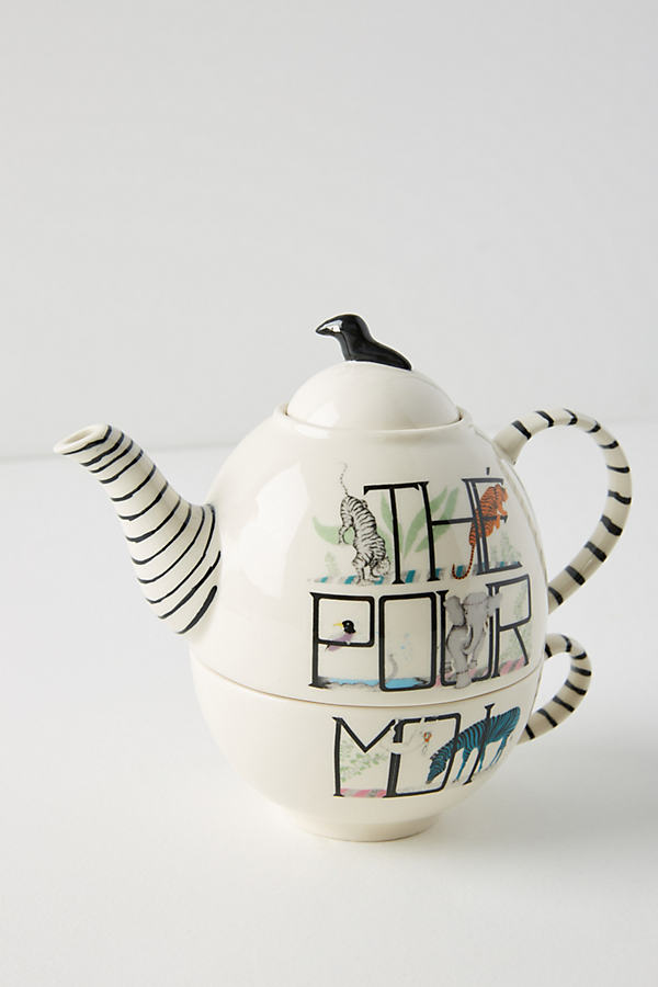 Tea For Me Set - A/s, Size Teapot