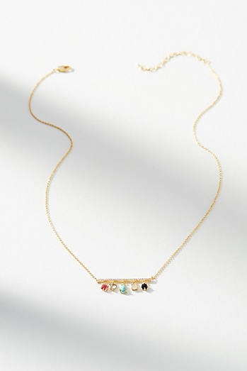 Charlize Charm Necklace