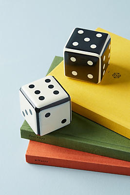 Slide View: 1: Play Your Luck Decorative Object Set