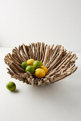Slide View: 1: Driftwood Decorative Bowl