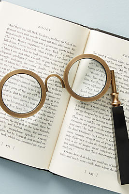 Slide View: 1: Antiqued Spectacles