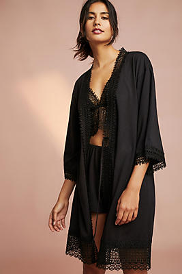 Slide View: 1: Flora Nikrooz Edie Lace Robe