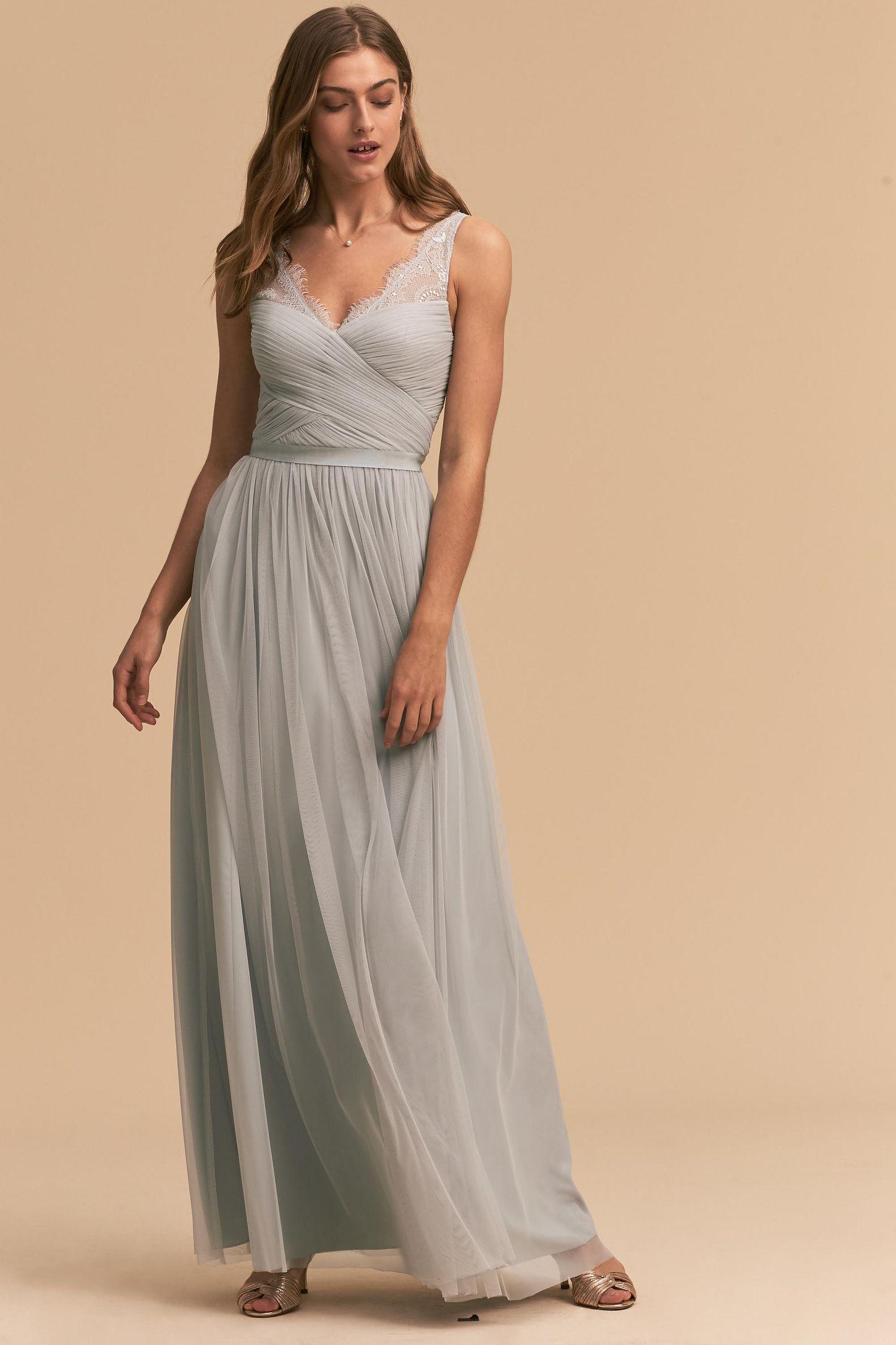 Silver wedding guest dresses anthropologie fleur dress junglespirit Image collections