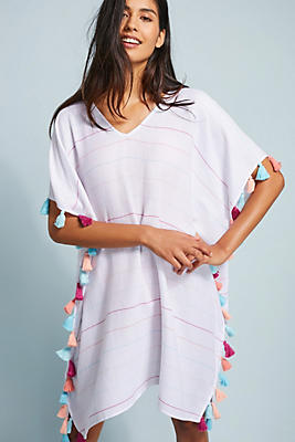 Slide View: 1: Seafolly Striped Caftan