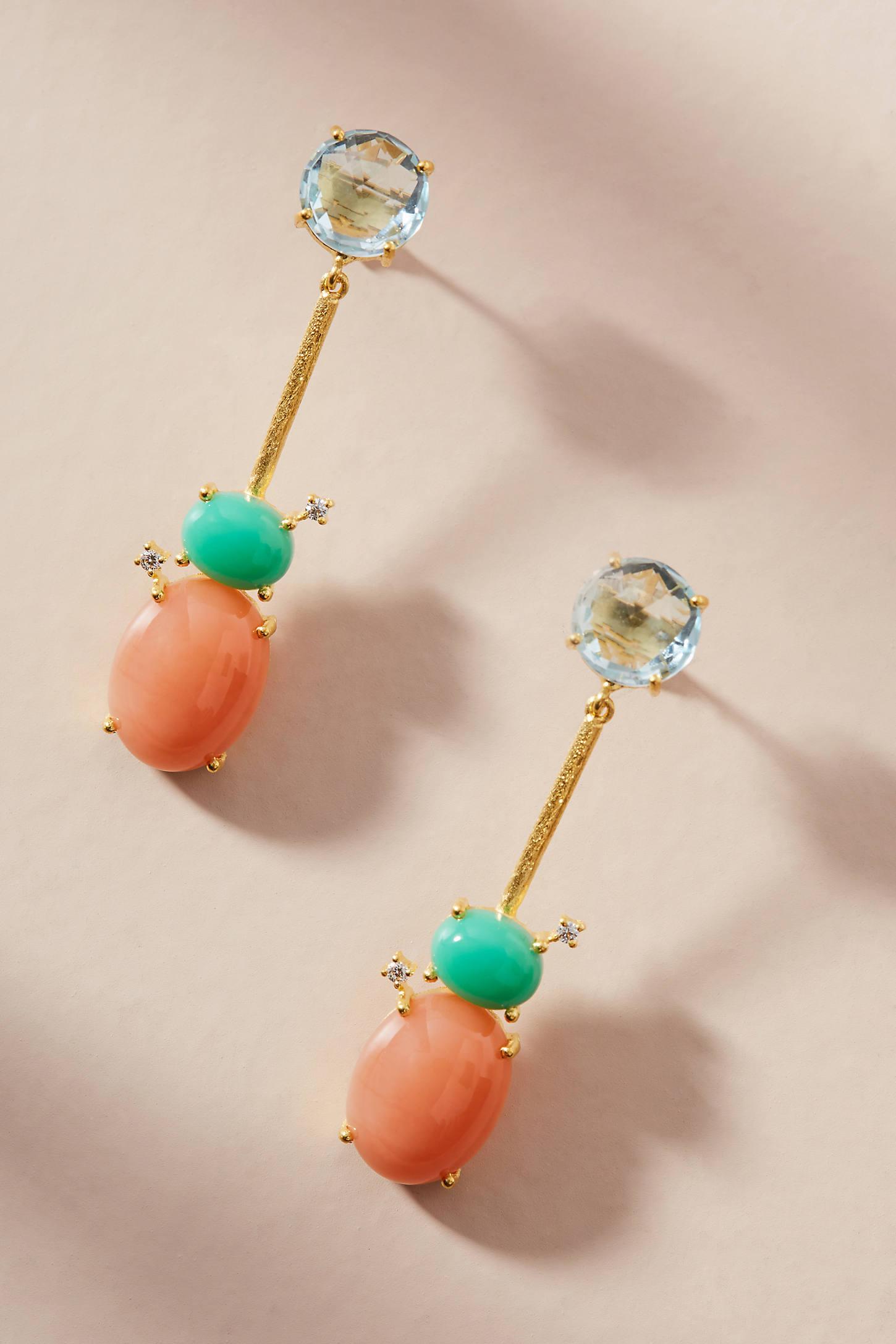 Lollipop Drop Earrings