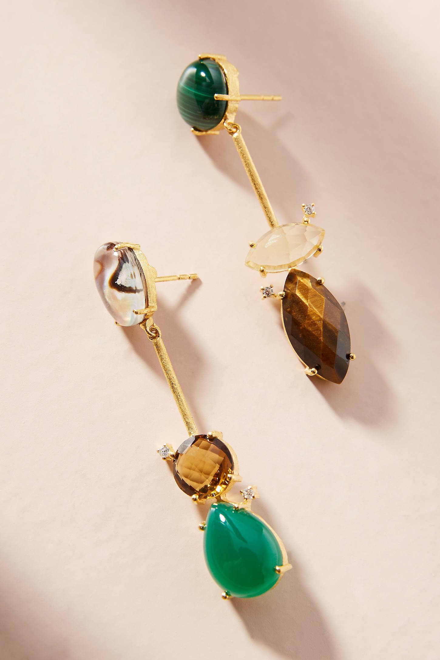 Gail Matchstick Drop Earrings