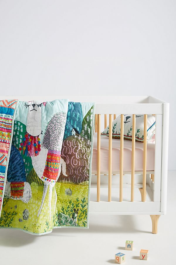 Slide View: 1: Little Llama Kids Quilt
