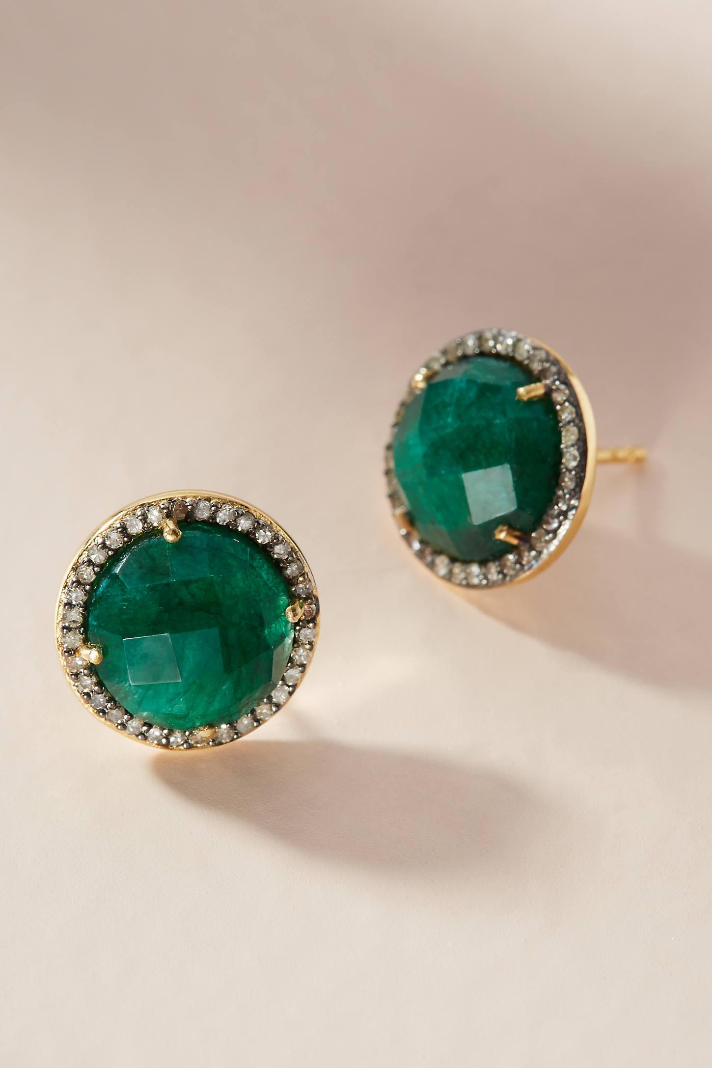 Morocco Post Earrings