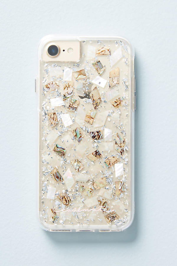 Slide View: 2: Case-Mate Mother of Pearl iPhone 6/6s/7/8 Case
