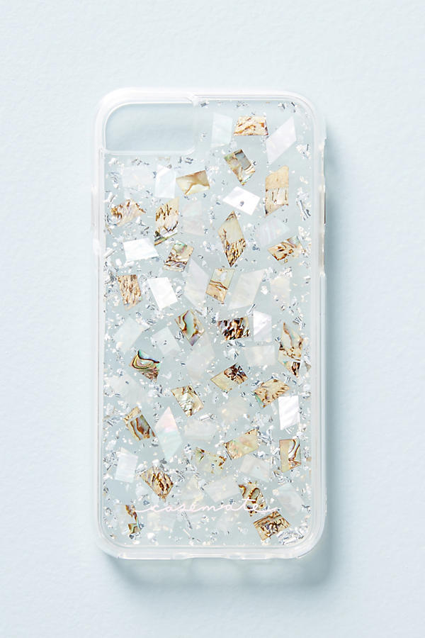 Slide View: 1: Case-Mate Mother of Pearl iPhone 6/6s/7/8 Case