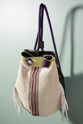 Claramonte   Claramonte Ruben Canvas Backpack  -    IVORY