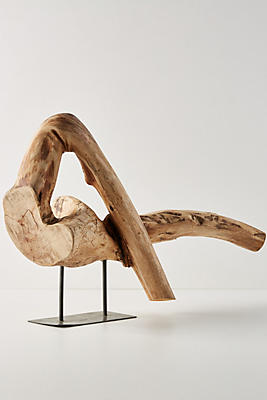 Slide View: 1: Driftwood Sculpture