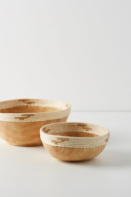 Sisal Wrapped Decorative Bowl by Indego Africa
