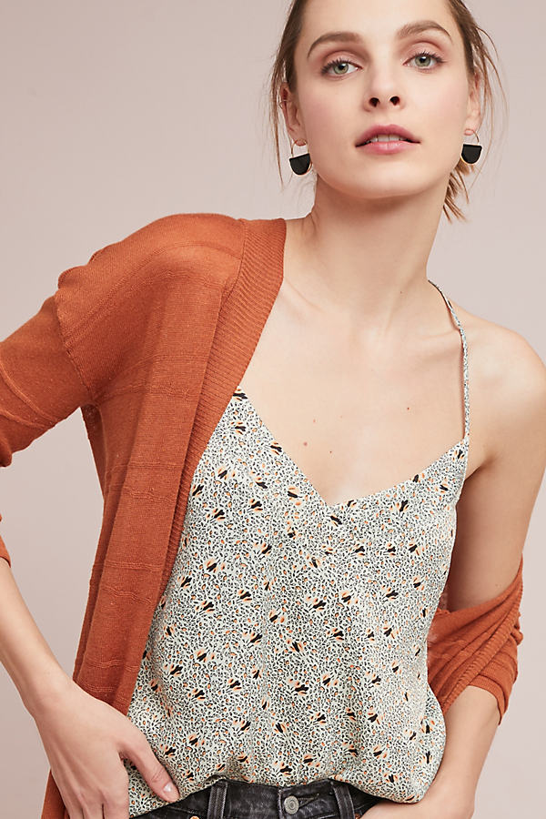 Floreat Printed Camisole - Mint, Size Xl
