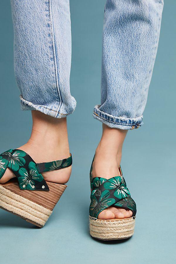 Slide View: 1: Sarto by Franco Sarto Niva Wedge Sandals