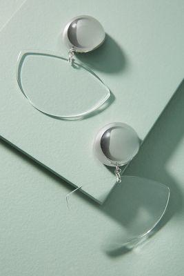 Rachel Comey   Rachel Comey Susa Drop Earrings  -    CLEAR