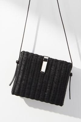 Rachel Comey   Rachel Comey Rona Woven Crossbody Bag  -    BLACK