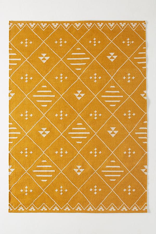 Maylan Rug - Yellow, Size 4 X 6