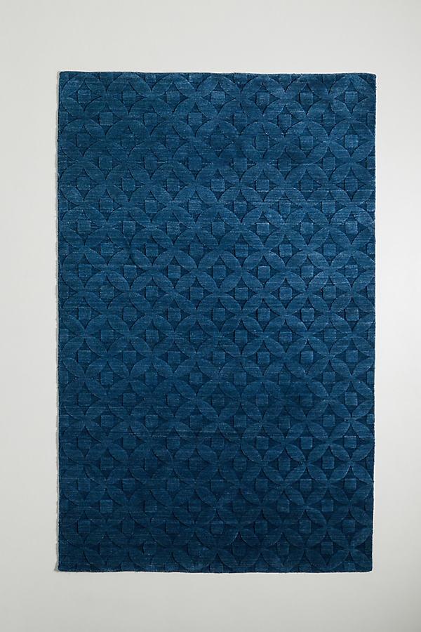 Victoria Rug - Blue, Size 5X8