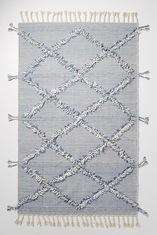 Blanca Rug - Blue, Size 4 X 6