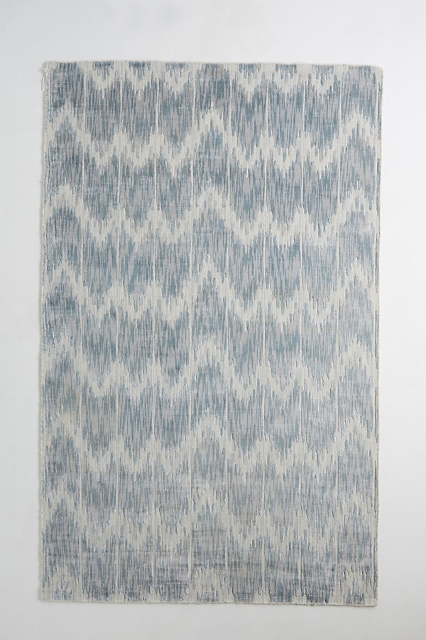 Woven Aria Rug - Blue, Size 5X8