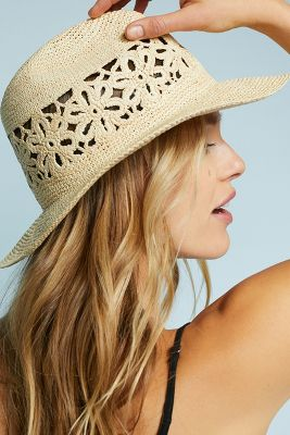 Packable Wonderlust Fedora by Yestadt Millinery
