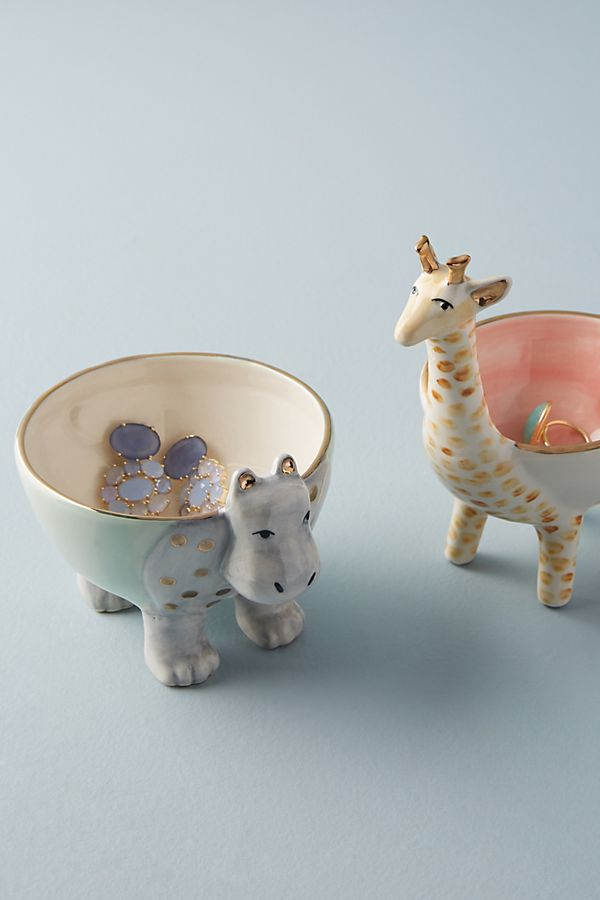 Slide View: 3: Sweet Safari Trinket Dish