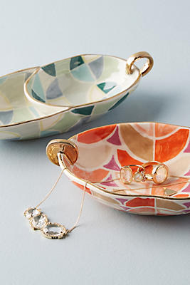Slide View: 3: Georgie Geo Trinket Dish