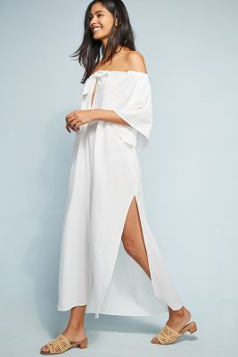 Mara Hoffman Kamala Off The Shoulder Dress by Mara Hoffman