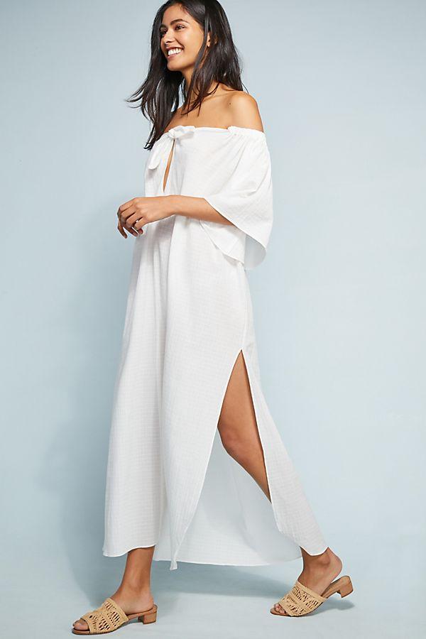 Kamala Dress in White. - size M (also in L,S) Mara Hoffman